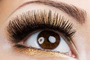 Russian volume eyelash extensions 2-3d