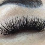 Russian volume eyelash extensions