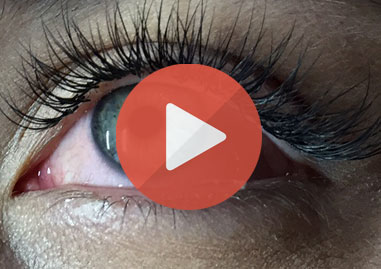classic eyelash extensions video