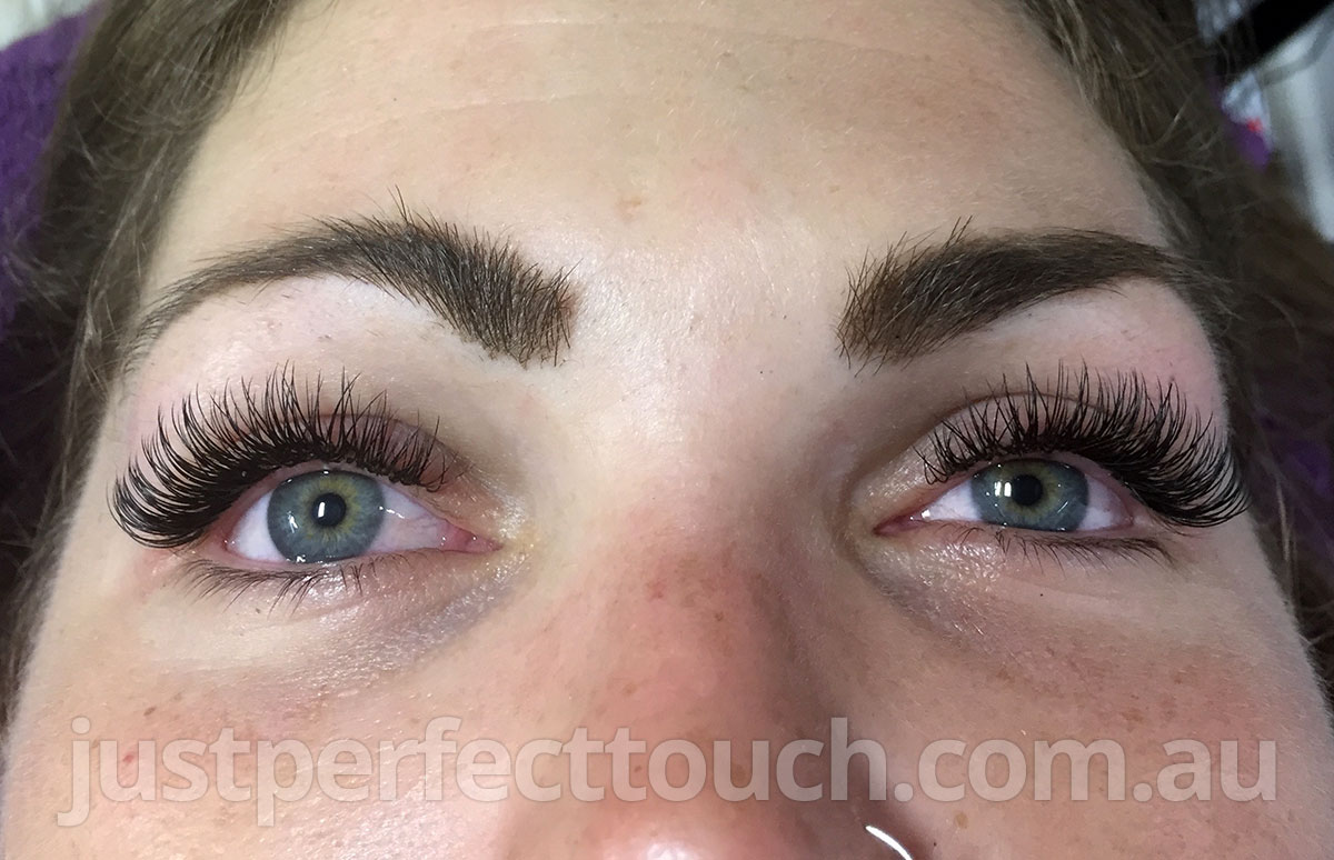 Classic Eyelash Extensions Melbourne Just Perfect Touch Eyelash
