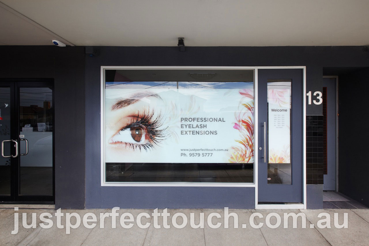 Just Perfect Touch eyelash extensions salon street view Melbourne