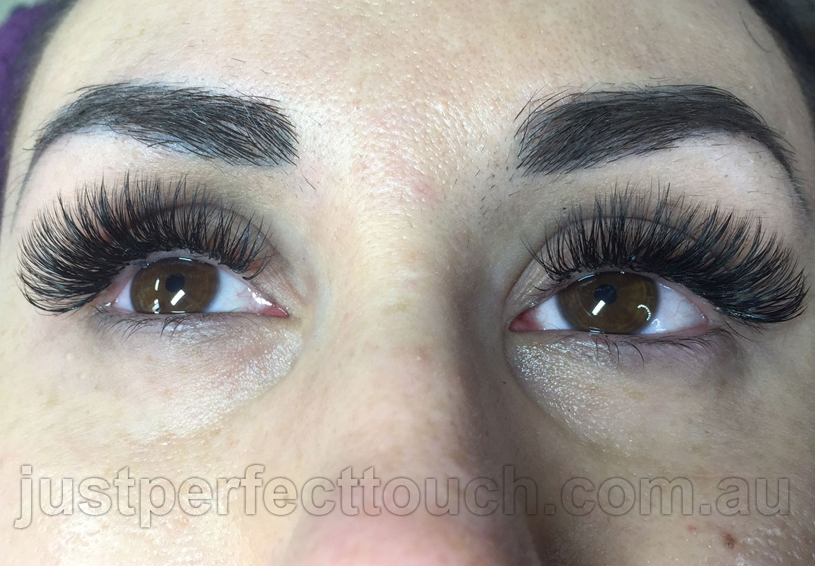 Eyelash extensions gallery   Just Perfect Touch